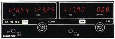 Navigační a komunikační rádiový přijímač