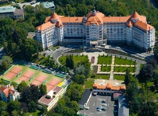Pohled na Karlovy Vary