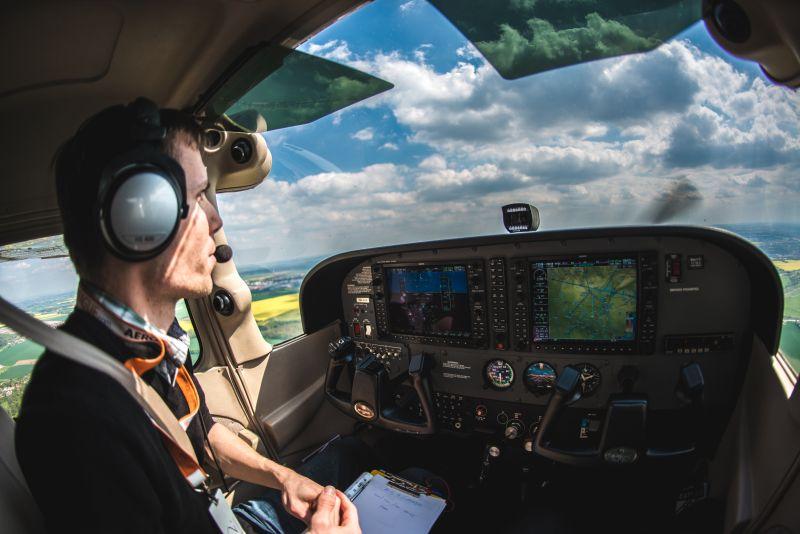 Vyhlídkový let Cessna