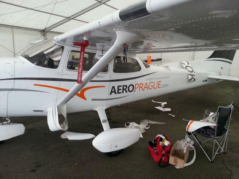 Cessna 172 OK-COK 2