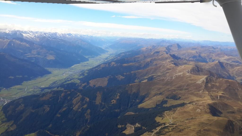 Let letadlem nad Alpy je ideální dárek pro vaše blízké