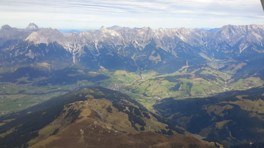Výlet do Alp letadlem