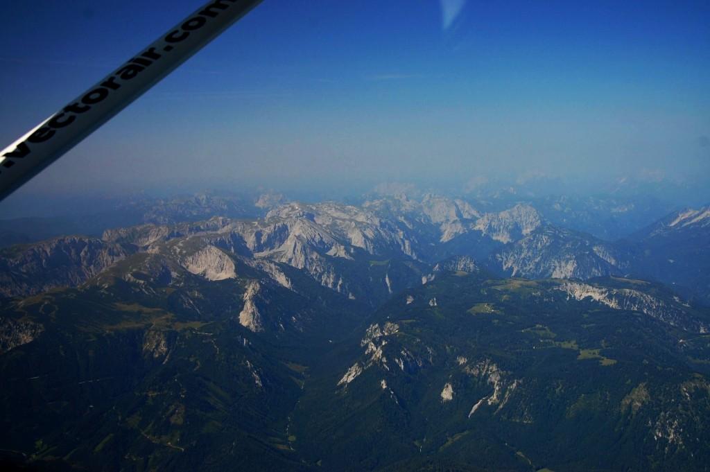 let letadlem Alpy