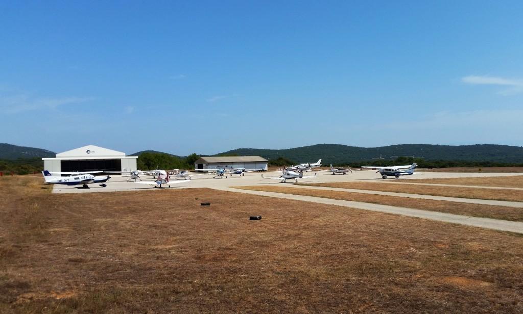 letiště pro malá letadla