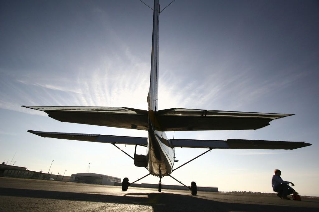 přistání, Cessna 172, letadlo