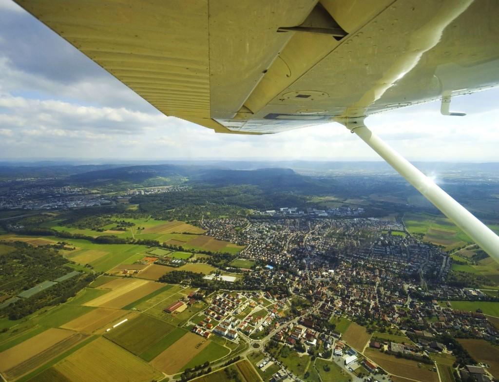 letadlo, vyhlídka, Cessna
