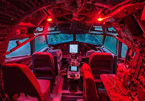 Kokpit Boeing 727