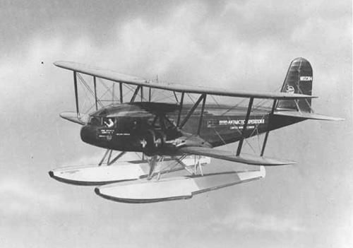 Curtiss Condor s plováky