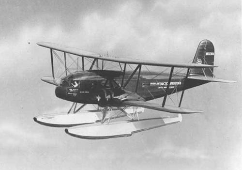 Curtiss Condor s plováky