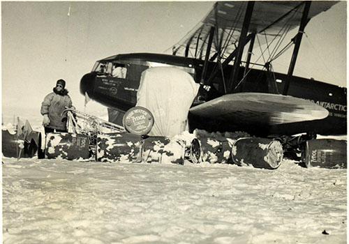 Curtiss Condor v Antarktidě