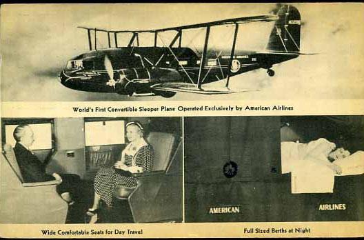 Interiér Curtiss Condor