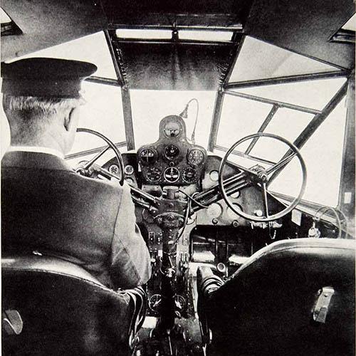 Kokpit Curtiss Condor