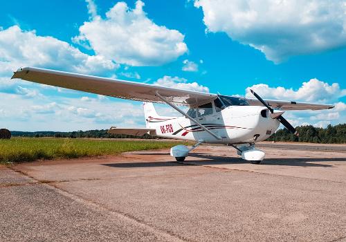 Letadlo Cessna 172 - vyhlídkový let